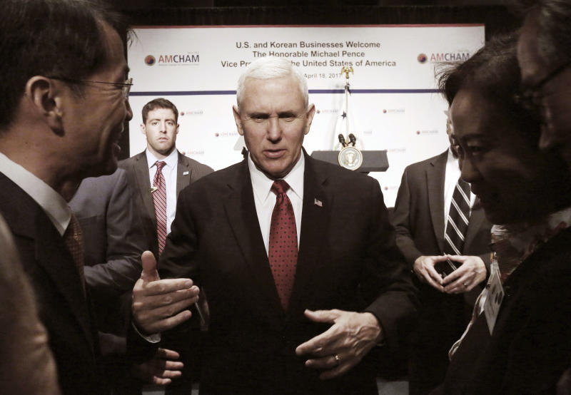 Pence headed to Japan turns focus to trade with key ally