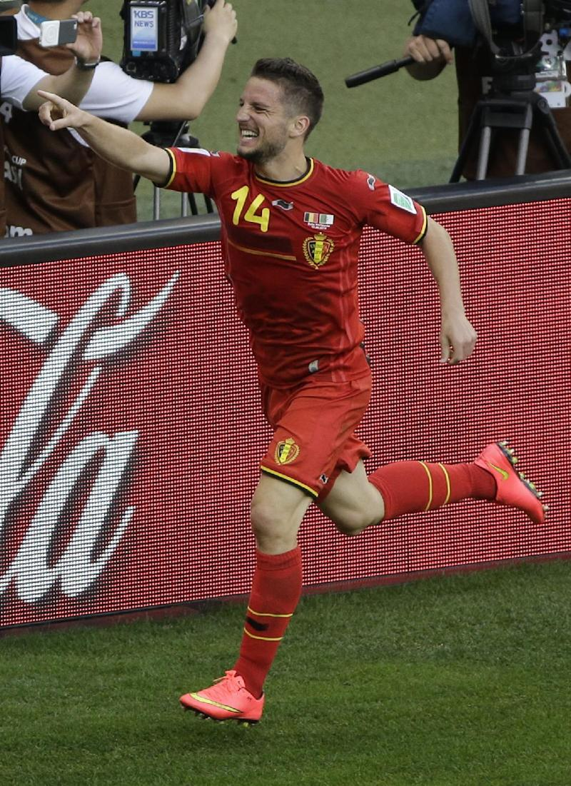 Belgium's strength came from its standout bench