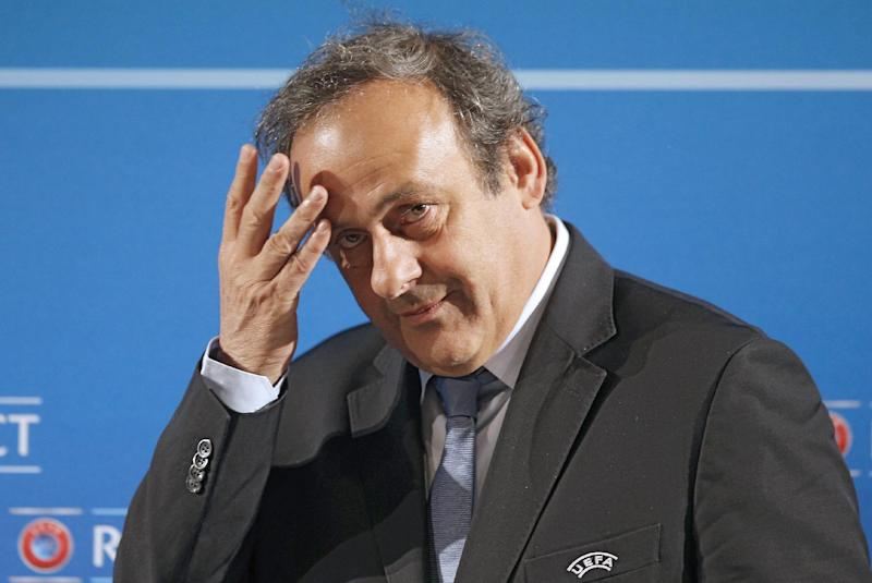Michel Platini won't run against Sepp Blatter
