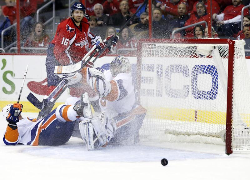 Shutout for Nabokov as Islanders top Capitals 1-0