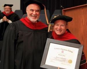Salem Talk Host Receives Doctorate of Ministry Degree