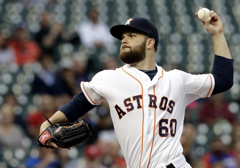 Keuchel pitches 7-hit shutout, Astros blank Texas