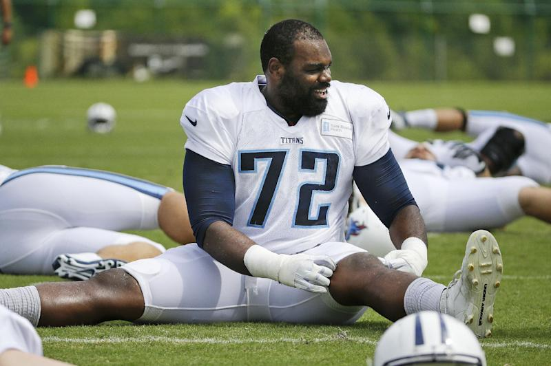 Titans' Oher motivated for matchup with Saints