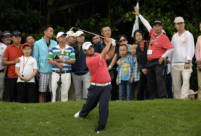 Levy maintains 3-shot lead at China Open