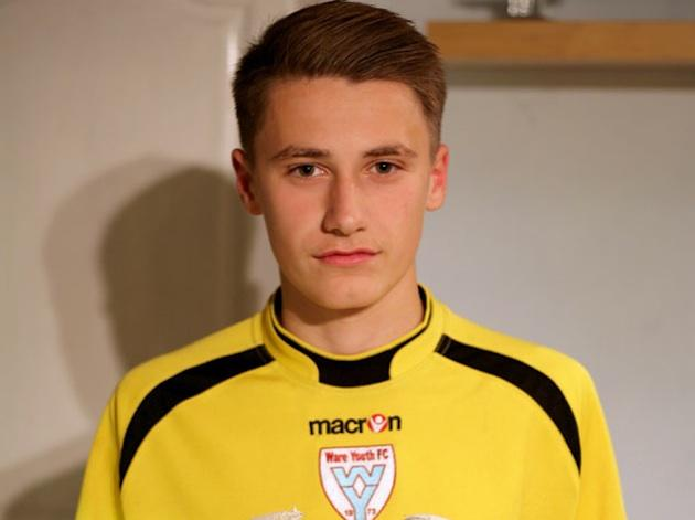 Ware youth goalkeeper Owen Thompson, who has Tourette's but was suspended for swearing at a ref — SWNS Group