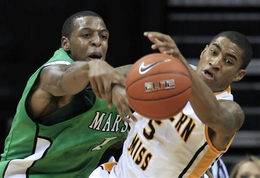 Pitts leads Marshall past Southern Miss 73-62