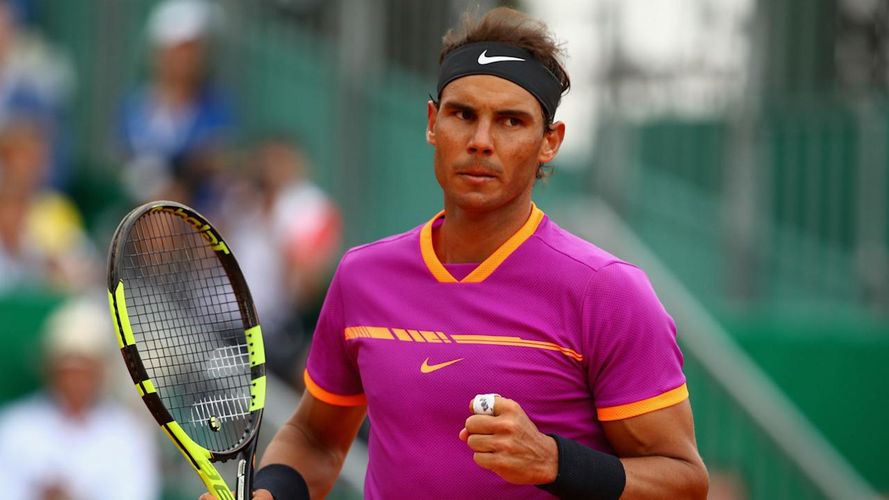 Rafael Nadal is the highest seed left in a tournament he has already won nine times after seeing off Diego Schwartzman.in straight sets.