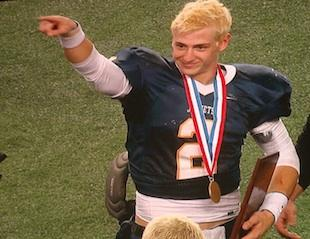 Stephenville QB Tyler Jones accounted for 9 TDs in a title game victory — Facebook