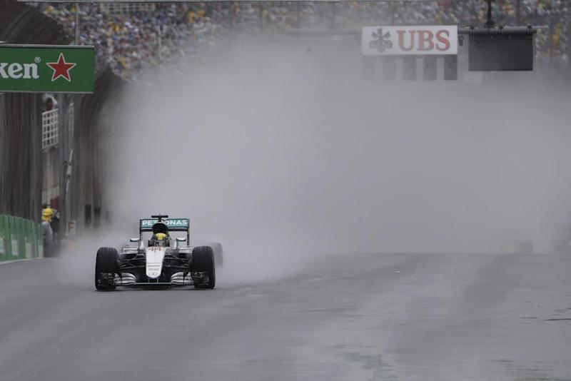 Lewis Hamilton wins in Brazil, title race alive