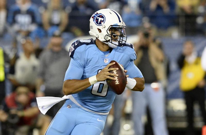 Mariota helps the Titans trounce past the Jaguars 36-22