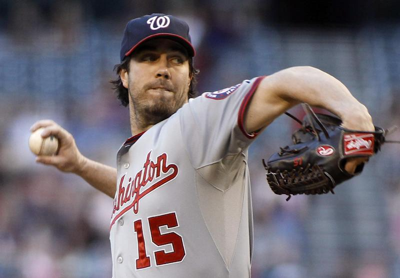 LA Dodgers sign RHP Dan Haren for 1 year, $10M
