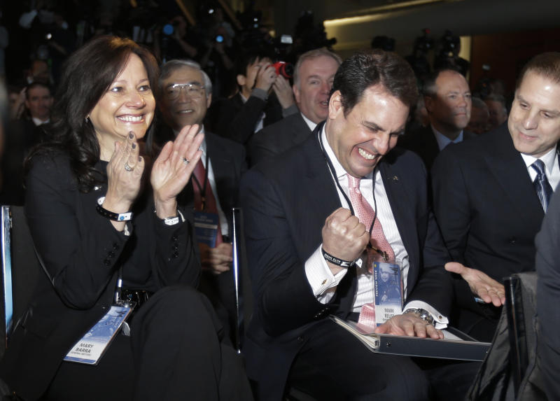 Mary Barra, a child of GM, prepares to lead it