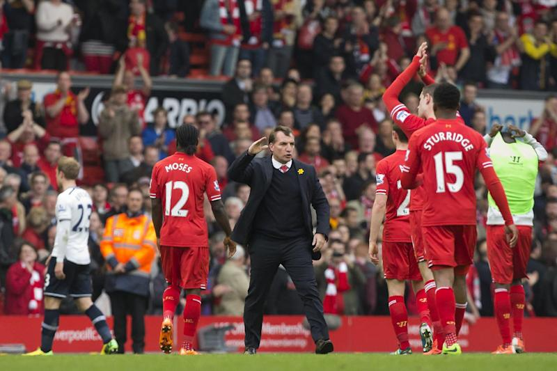 Liverpool tops Premier League after beating Spurs