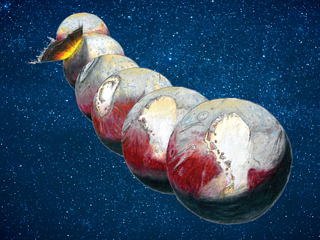 pluto asteroid impact nature james tuttle keane shutterstock business insider