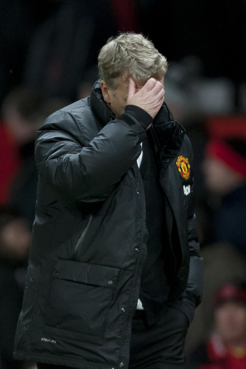 United in decline as Moyes faces crunch time