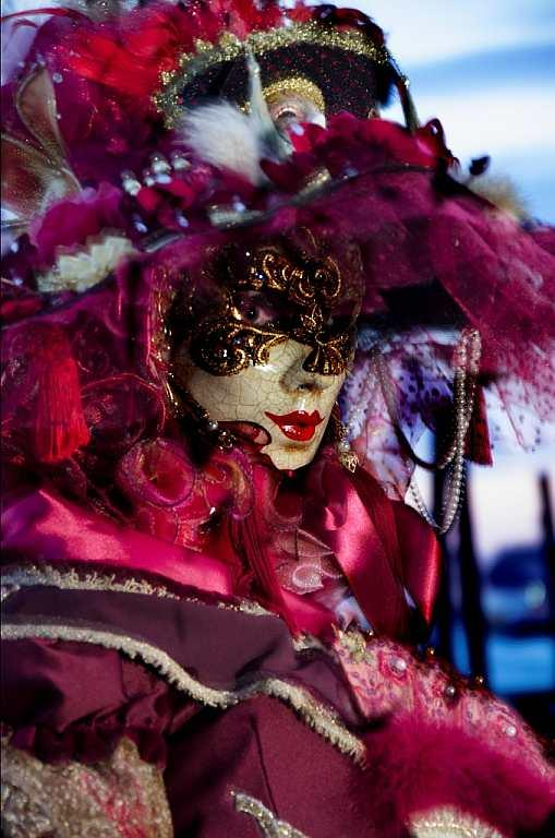 Venice is truly seductive during the Carnival.