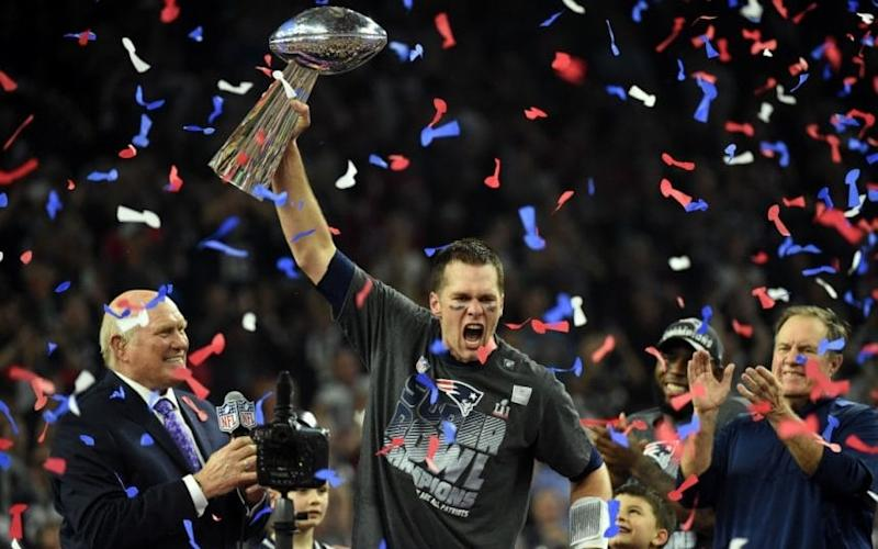 Tom Brady Super Bowl  - Credit: AFP