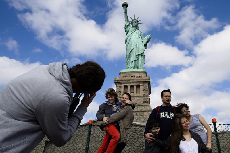 Statue of Liberty reopens amid federal shutdown