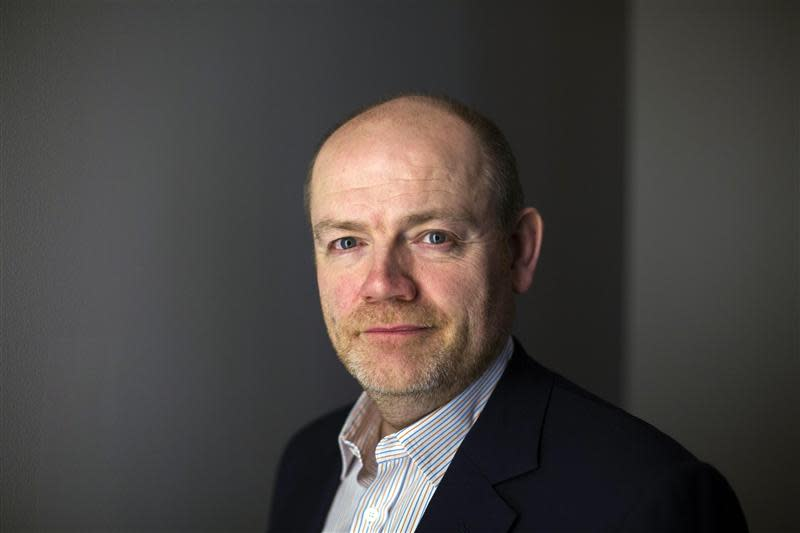 Mark Thompson, president and CEO of the New York Times Company, poses for a portrait in New York