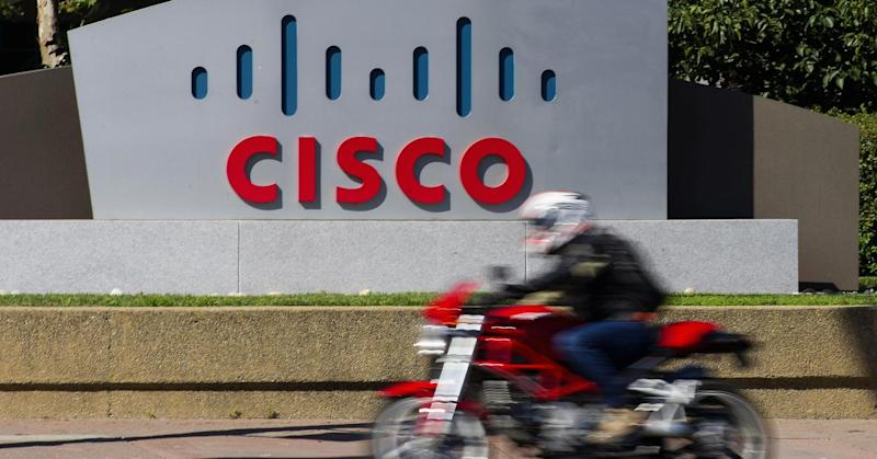 Cisco shares slump on weak second-quarter earnings outlook