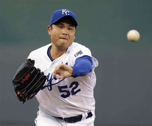Bruce Chen throws gem as Royals top Tigers 1-0