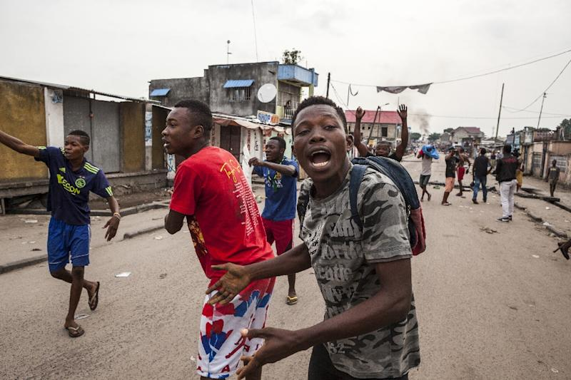 Gunfire in DRC's capital as tension grows over Kabila