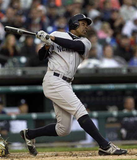 Granderson's slam leads Yankees over Tigers 9-4