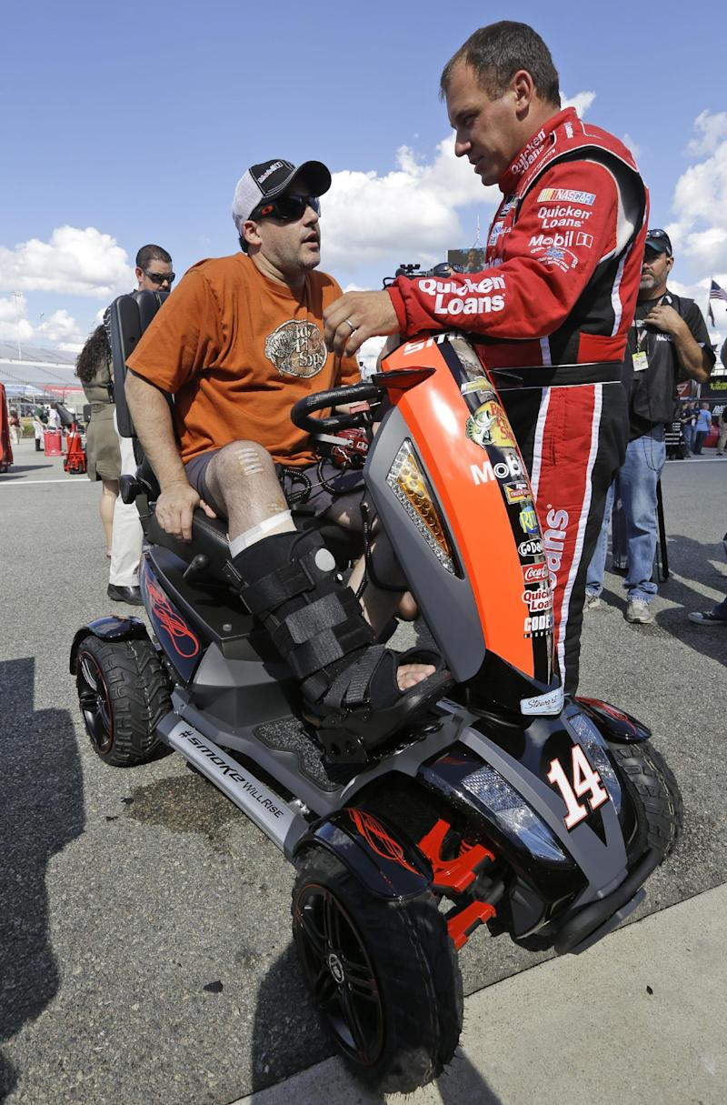 Injury gives Tony Stewart new perspective