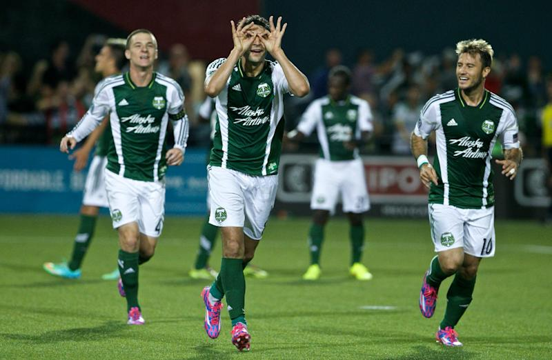 Timbers top Rapids 2-1