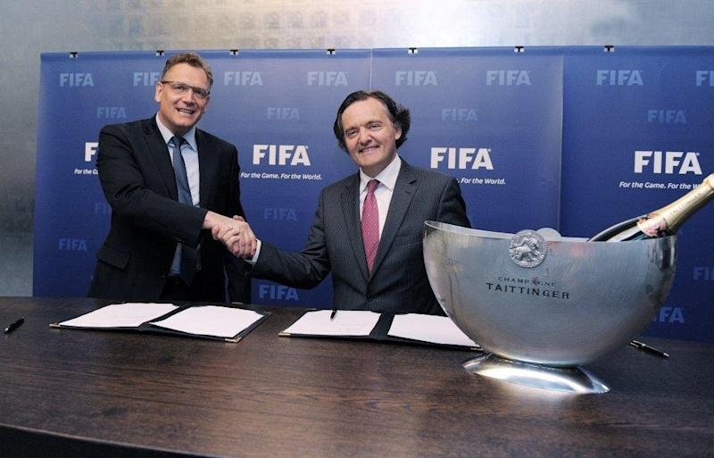 Champagne Taittinger Announced as Official FIFA Champagne