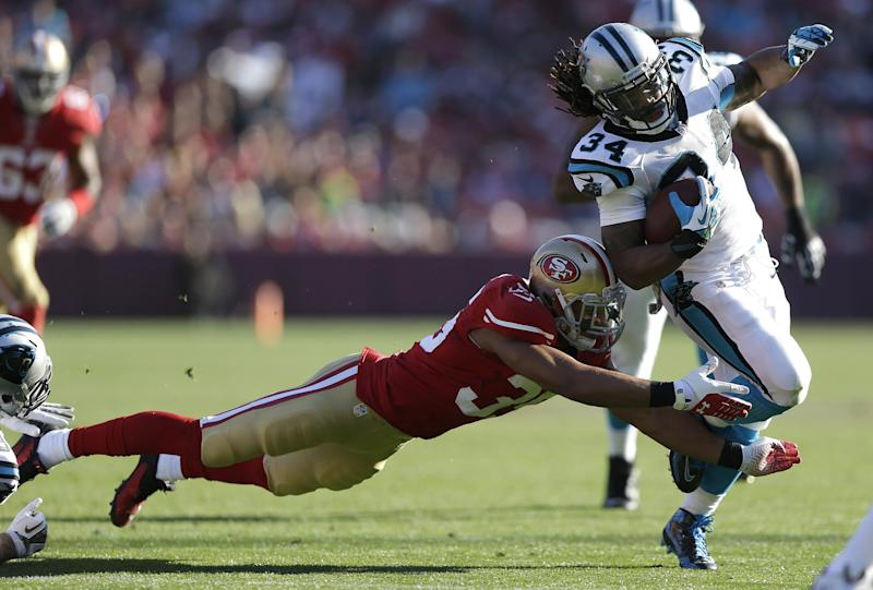 Rookie Eric Reid out of LSU eager to face Brees