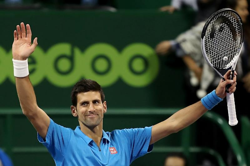 Djokovic wins, then poses for selfie with his opponent