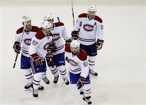 Canadiens rally to top Rangers, win 5th straight