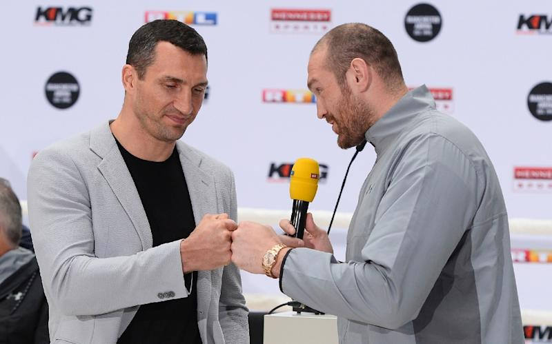 Tyson Fury v Wladimir Klitschko world title fight postponed