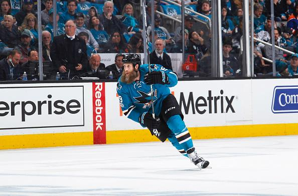 Sharksâ Joe Thornton played through torn ACL and MCL in playoffs
