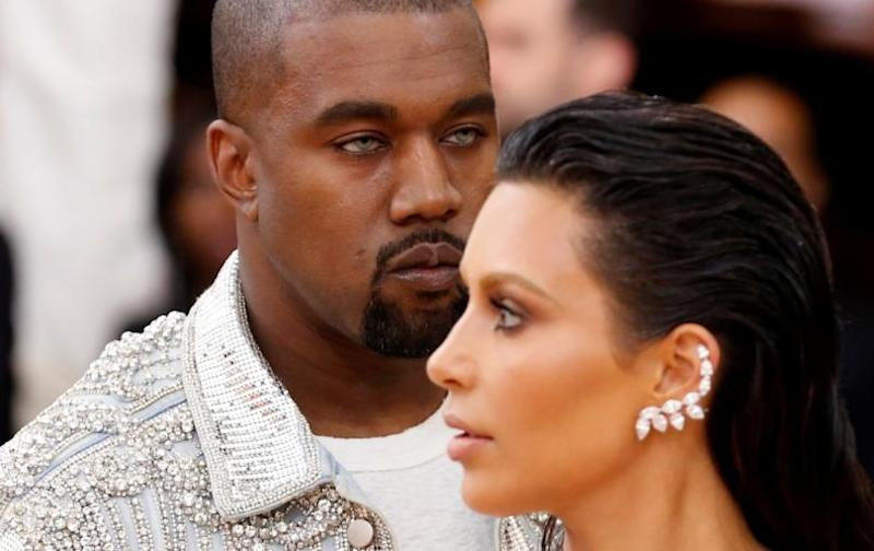 Kanye West, Kim Kardashian living apart after breakdown