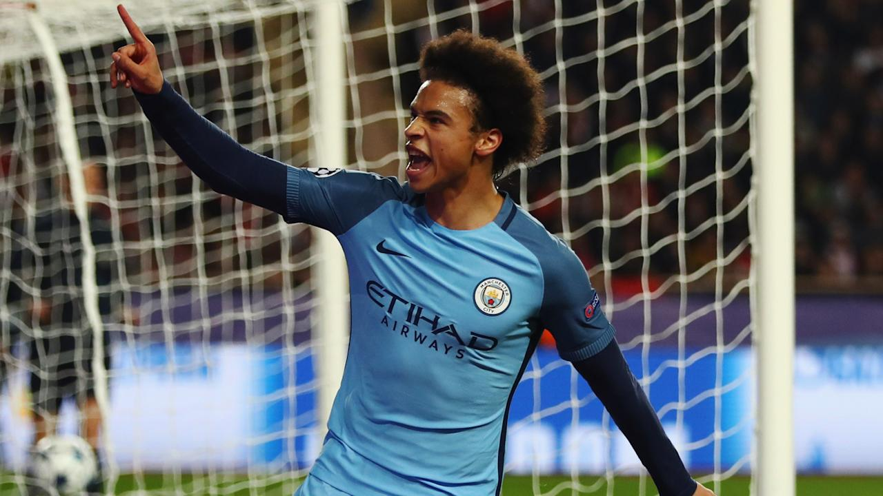 Learn from Lionel Messi and Neymar was the message Leroy Sane received from Manchester City manager Pep Guardiola.