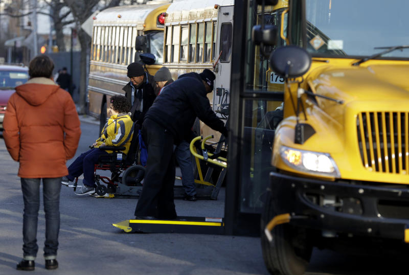 NYC school bus service resumes after strike