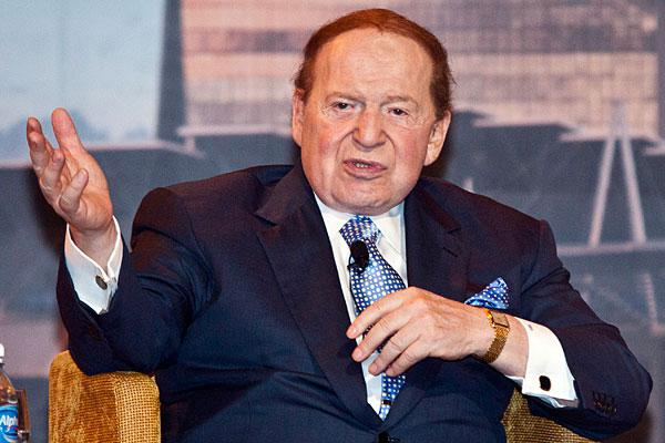 "<b>6. Sheldon Adelson, 78</b> <br>Company: Las Vegas Sands <br>Net worth: $24.6 billion <br>2010 compensation: $11,356,866 <br><br>Sheldon Adelson is the chairman and CEO of Las Vegas Sands, the most valuable publicly traded U.S. casino company. <br><br>Adelson rose from poverty in Boston and worked his way into the financial industry before developing one of the world's largest computer tradeshows — COMDEX in 1979. Ten years later, he bought the Sands Hotel & Casino in Las Vegas and constructed the Sands Expo and Convention Centre. In 1995, Adelson sold the COMDEX trade shows for <a href=""http://www.lasvegassands.com/LasVegasSands/Corporate_Overview/Leadership.aspx"">more than $860 million</a> and constructed the $1.5 billion Venetian Resort Hotel Casino. <br><br>Since then, he's expanded his empire globally, and now owns the Sands Macao and the Venetian Macao in southeastern China — a region now known as the world's biggest gaming centre. He also opened the Marina Bay Sands casino in Singapore. <br><br>Adelson's stake in Las Vegas Sands is estimated to be worth $14.8 billion. Other notable assets include his home in Newton, Massachusetts, valued at $4.9 million. <br><br>Adelson and wife, Miriam, are also known as keen supporters of U.S. presidential candidate Newt Gingrich, <a href=""http://www.reuters.com/article/2012/02/28/us-usa-campaign-gingrich-adelson-idUSTRE81R1D720120228"">donating nearly $11 million</a> to a political committee that supports Gingrich's campaign in January. The casino mogul has also signaled that he would write big checks to Republican candidate Mitt Romney if he wins the nomination."