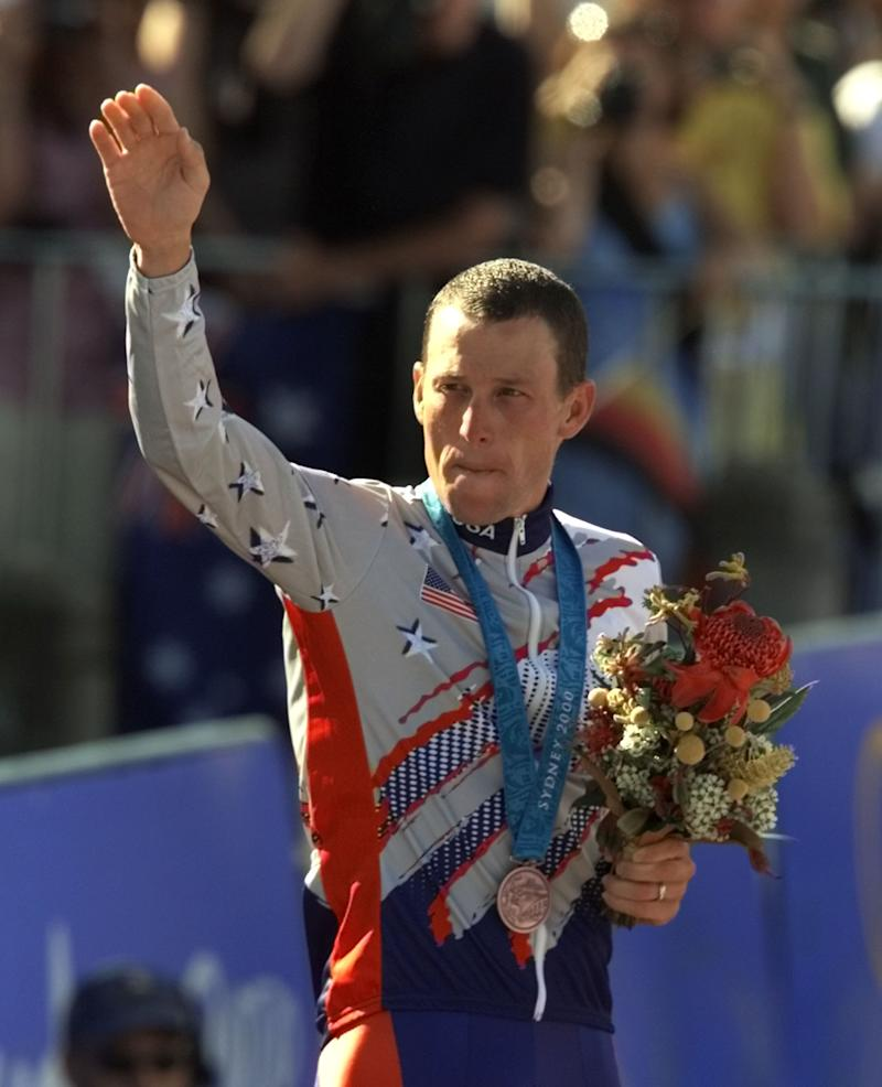 IOC receives Lance Armstrong's Olympic medal