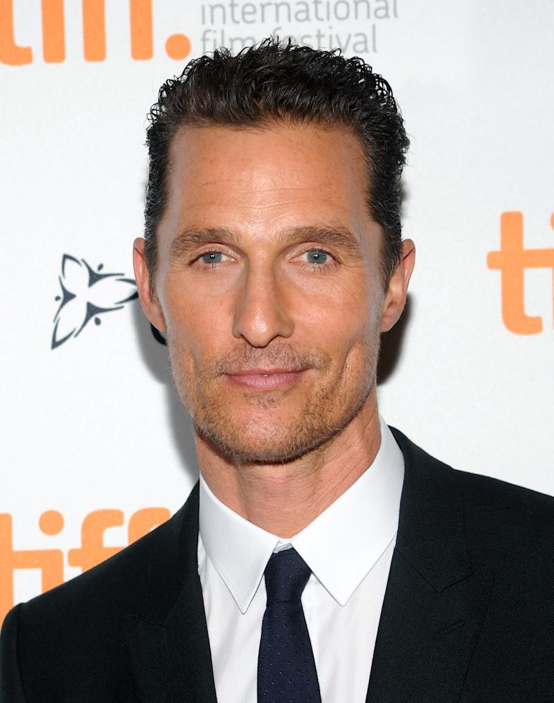 Standing ovation for McConaughey at Toronto