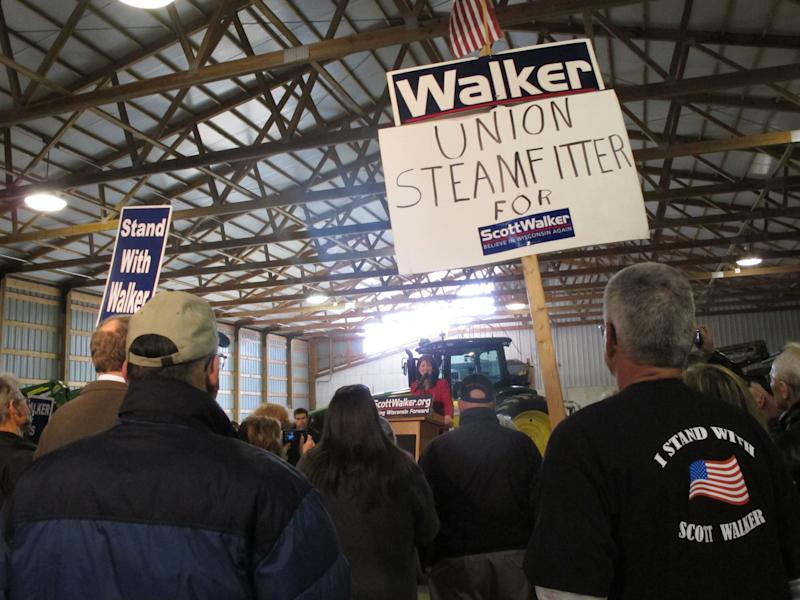 Wisconsin recall is high-stakes bet for unions