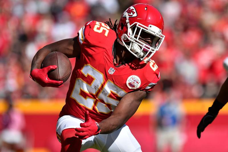 Jamaal Charles Out For Week 8 With Knee Soreness