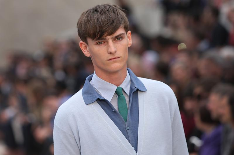 Burberry showcases latest menswear in London
