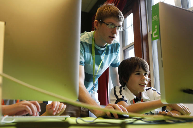 Coding camps for kids rise in popularity