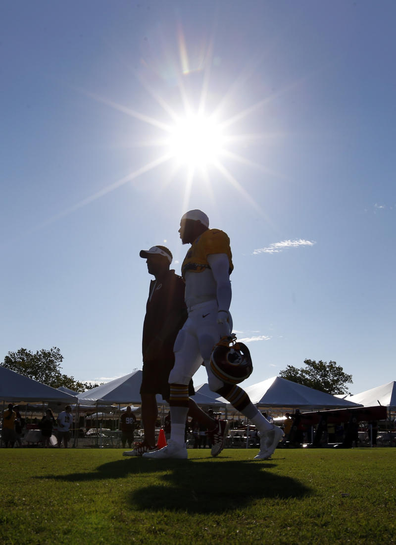 After years of drama, Redskins enjoy a calm camp