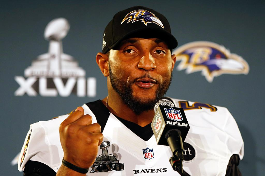 """Notoriety gets attention. Ray Lewis has the lock on player lookups on Yahoo! Search. The Ravens linebacker has a storied life that people are still revisiting, be it his six kids with multiple women (""""how many kids does ray lewis have""""), a murder trial (""""ray lewis murder case""""), a redemptive path through charity work (""""ray lewis christian""""), his almost-there tackle record (""""ray lewis stats""""), that squirrel dance (""""ray lewis dance clip""""), and the """"SNL"""" skit (""""saturday night live ray lewis""""). Pumping up now: """"ray lewis deer spray"""" and """"ray lewis banned substance."""""""