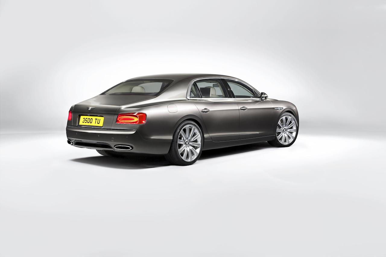 The styling of the new Flying Spur establishes a new design character for Bentley's performance sedan. An elegant direction is reflected by a lower, wider appearance with sharp lines and gently curvaceous surfaces.