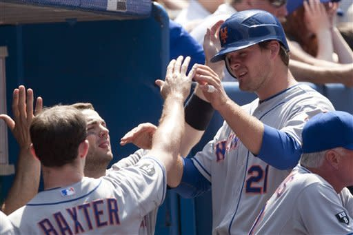 Baxter helps Mets beat Blue Jays to avoid sweep