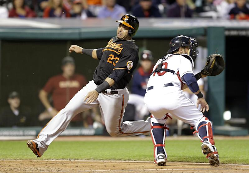Orioles rally, lose 2-1 in 11 innings to Indians